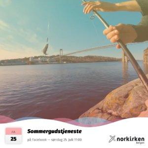 Gudstjeneste i Norkirken Bergen 25. juli 2021